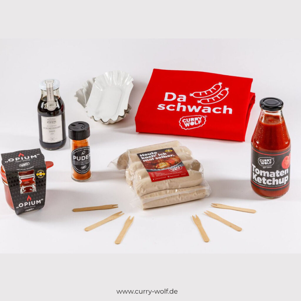 Grillpaket Currywurst